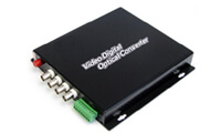 4 Channel Fiber Optic Video Transceivers